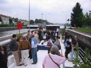 Croisière Seine - ecluse de Bougival