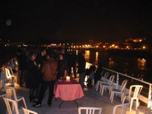 Croisière réception de nuit en Seine à Conflans Sainte Honorine