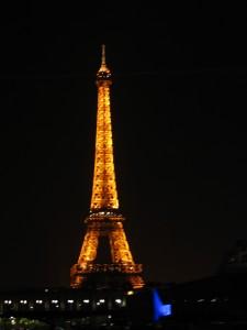 Croisière Paris - Tour Eiffel