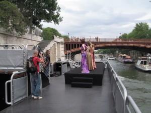 Croisiere tournage Paris