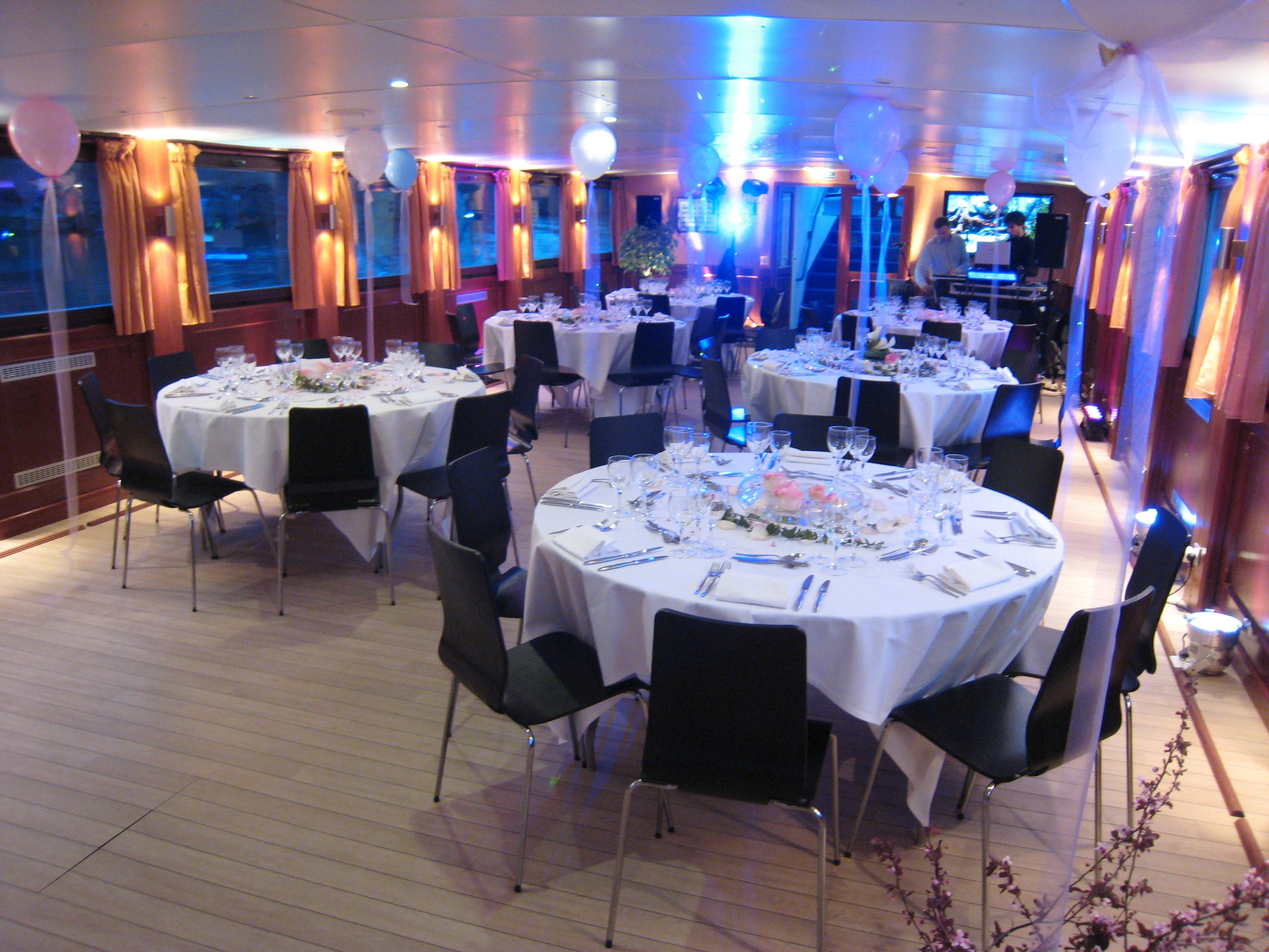 Mariage Franco,Russe à bord du yacht LE SIGNAC