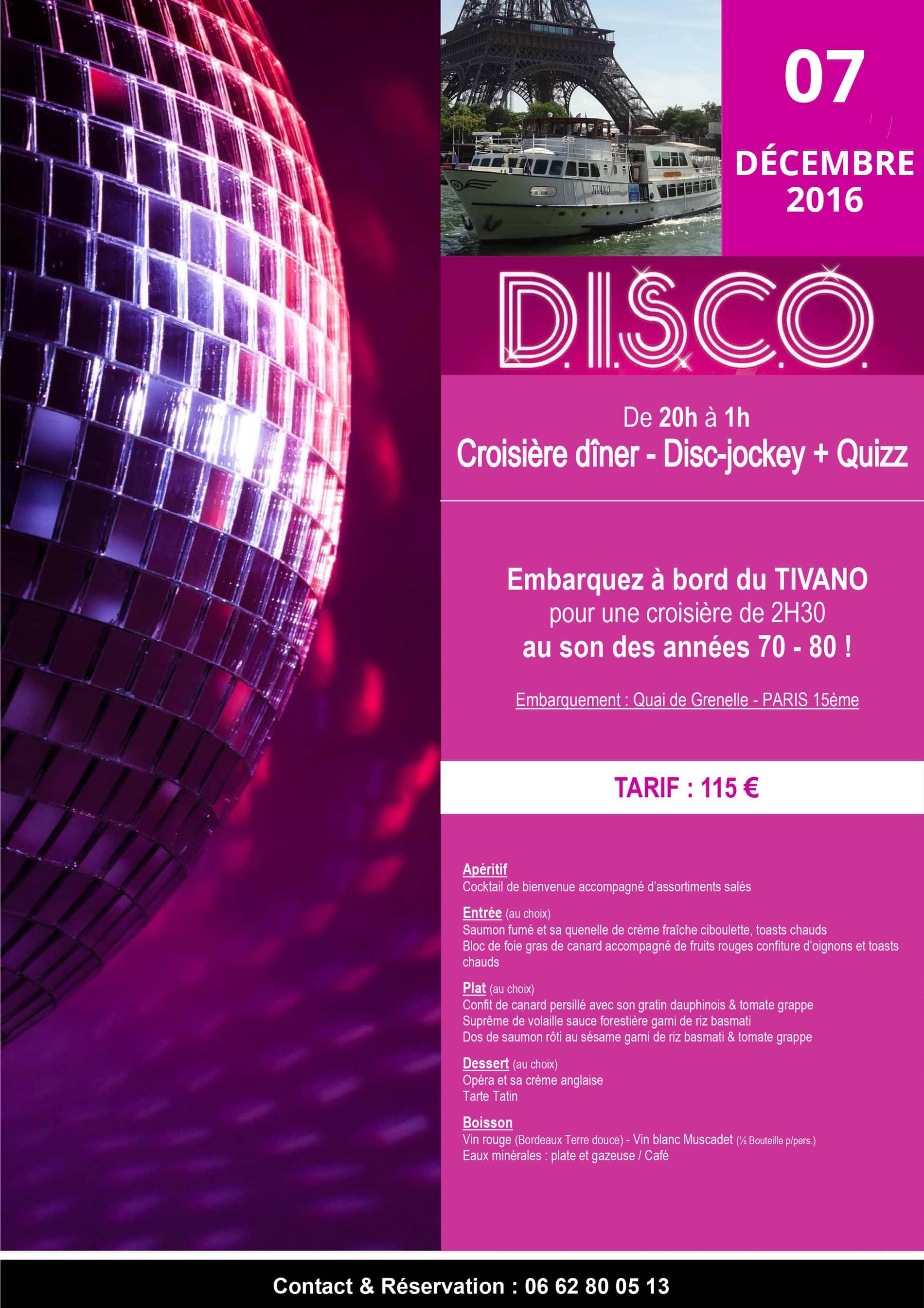Soirée Disco Tivano